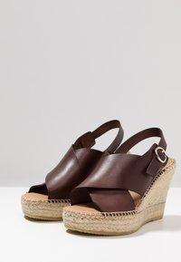 Minelli - Korolliset sandaalit - marron - 4