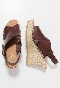 Minelli - Korolliset sandaalit - marron - 3