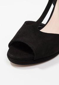 Minelli - Korolliset sandaalit - black - 2