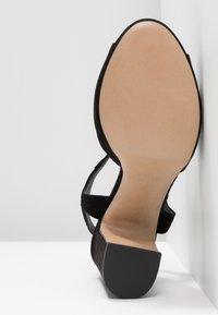Minelli - Korolliset sandaalit - black - 6