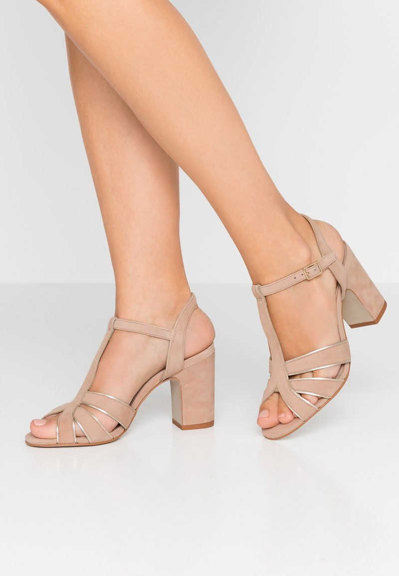 Minelli - High heeled sandals - poudre