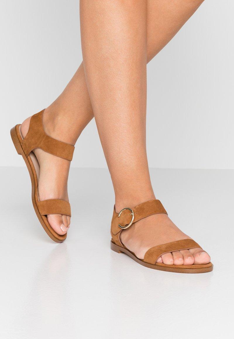 Minelli - Sandals - cognac