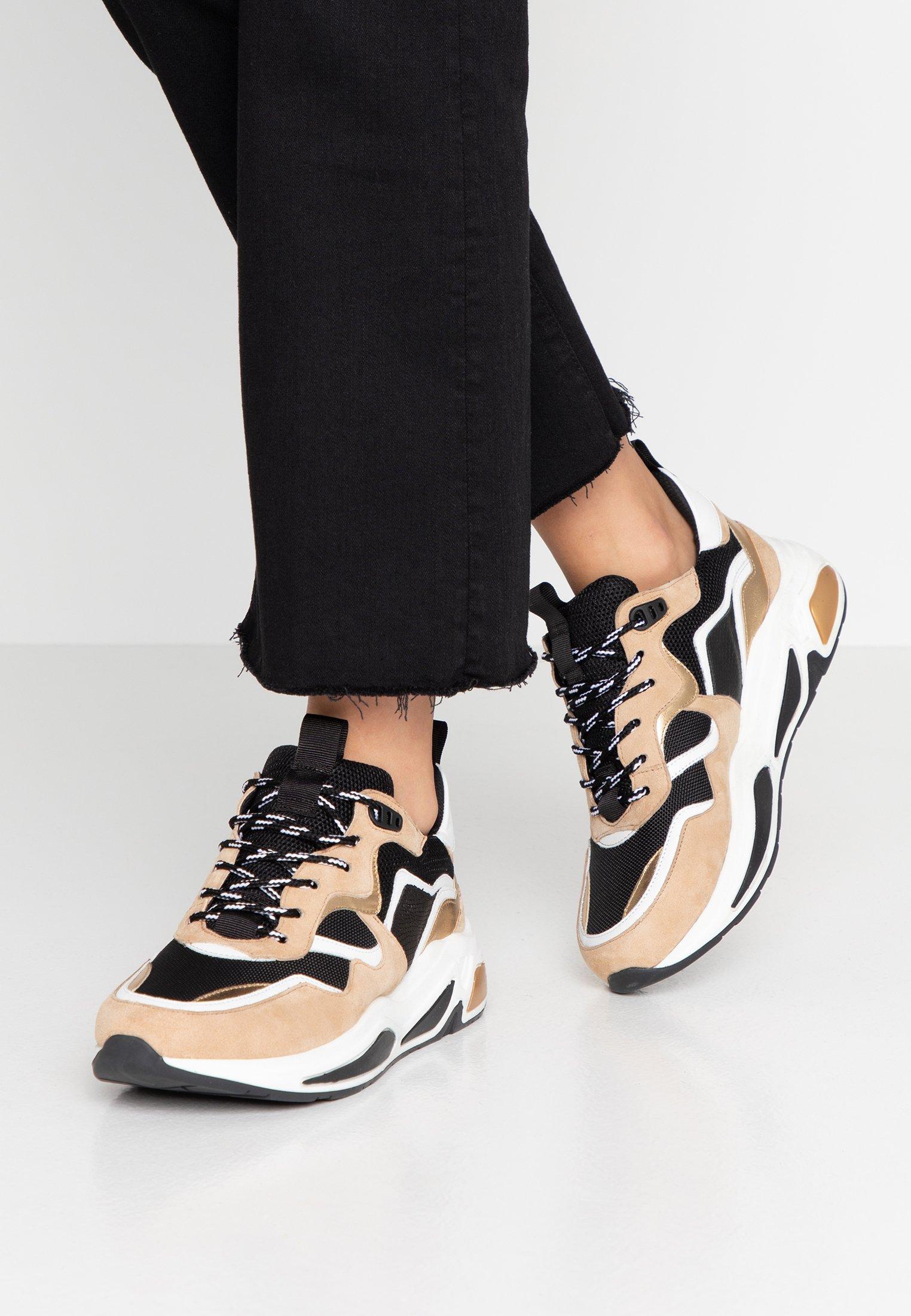 Minelli Sneakers basse or/noir