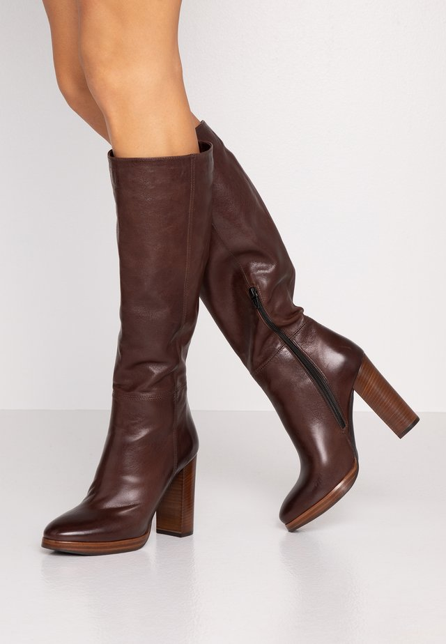 Laarzen met hoge hak - choco