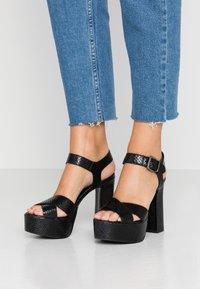 Minelli - High heeled sandals - noir - 0
