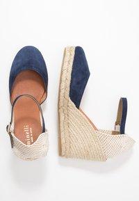 Minelli - High heeled sandals - marine - 3