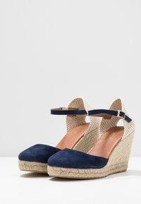 Minelli - High heeled sandals - marine - 4