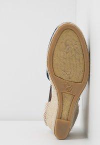 Minelli - High heeled sandals - marine - 6