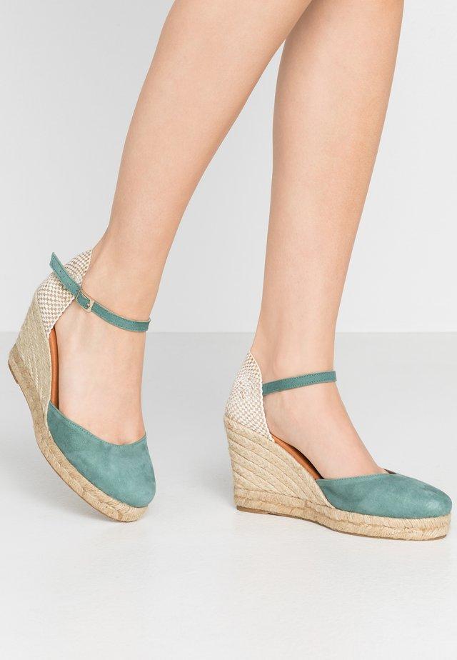 High heeled sandals - jade