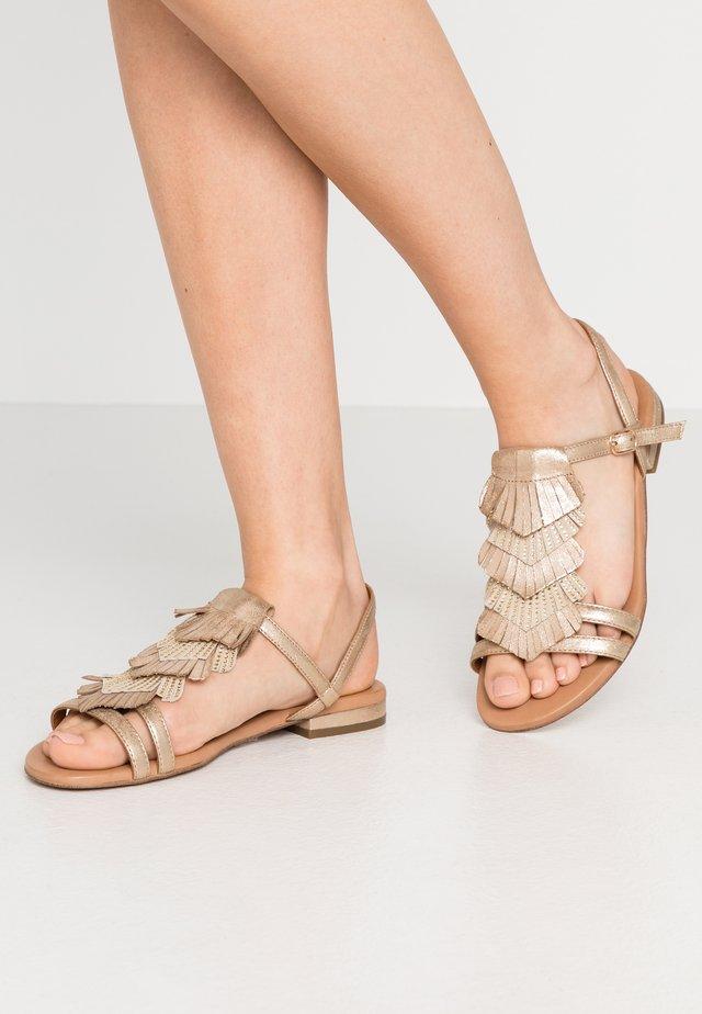 Sandals - platine