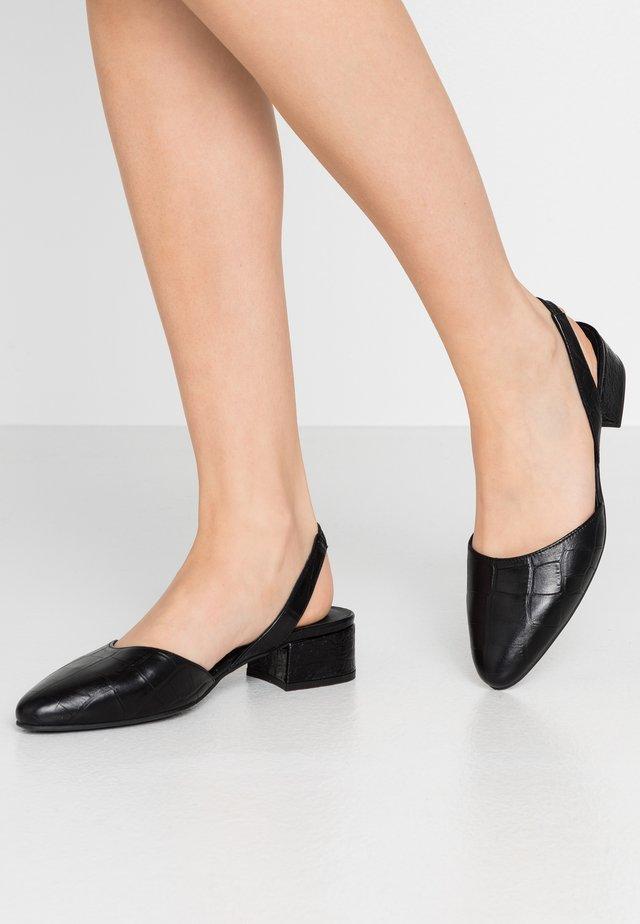 Classic heels - noir