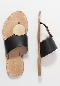 Minelli - Sandály s odděleným palcem - noir - 3