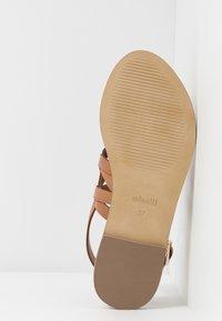 Minelli - Sandály s odděleným palcem - tan - 6