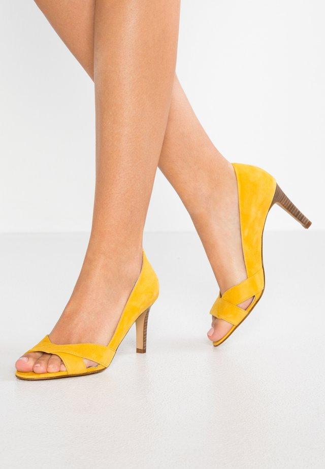 Pumps - jaune