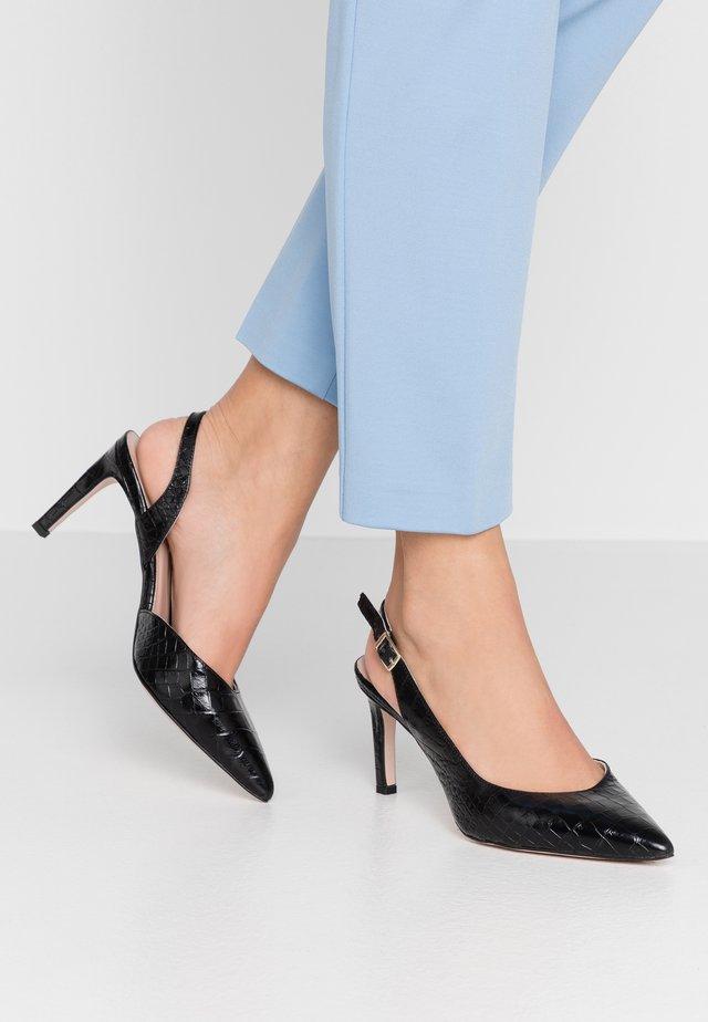 High heels - noir