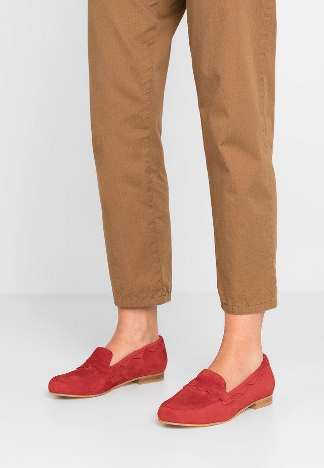 Slipper - rouge