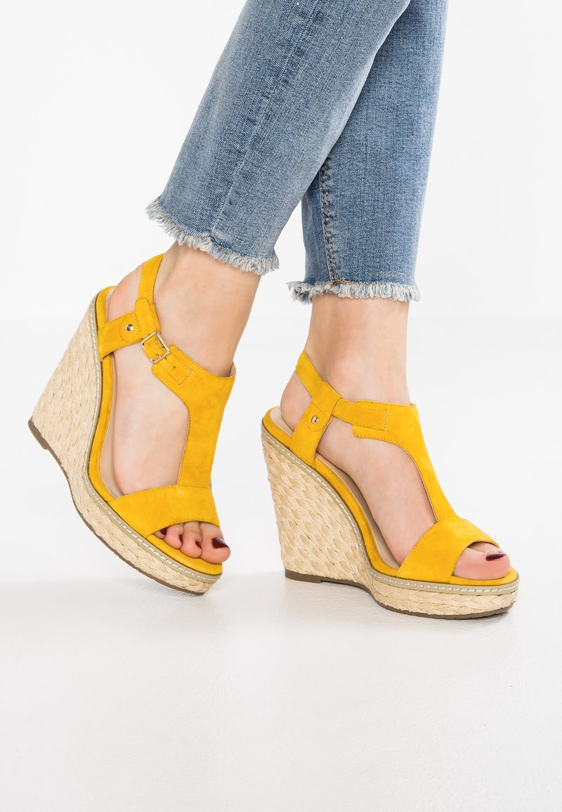 Minelli - High heeled sandals - jaune