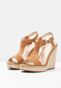 Minelli - Korolliset sandaalit - brown - 2