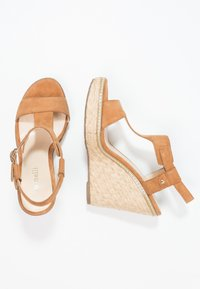 Minelli - Korolliset sandaalit - brown - 1
