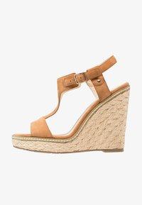 Minelli - Højhælede sandaletter / Højhælede sandaler - brown - 0