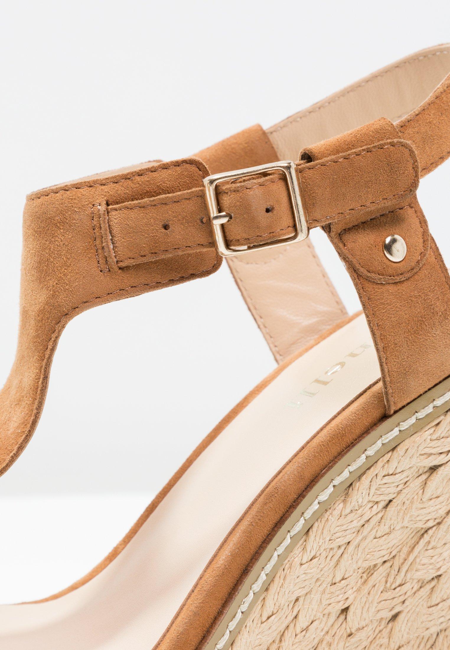 Minelli Sandały na obcasie - brown