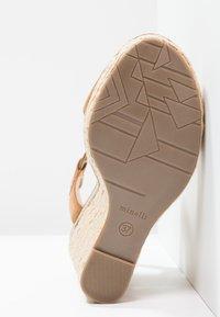 Minelli - Korolliset sandaalit - brown - 4