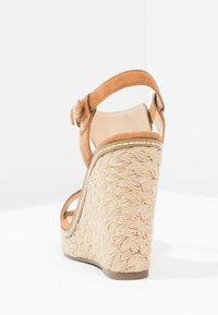 Minelli - Højhælede sandaletter / Højhælede sandaler - brown - 3