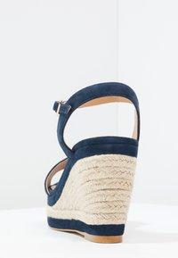 Minelli - Korolliset sandaalit - marine - 3