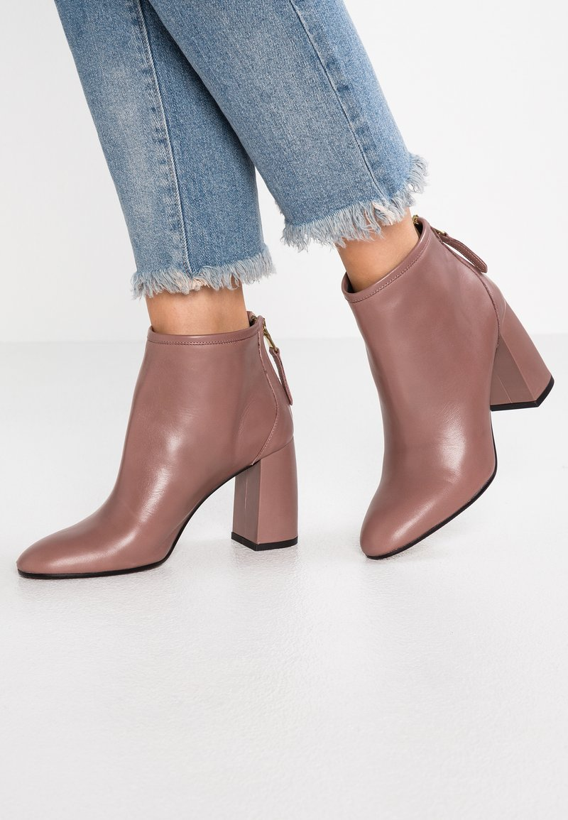 Minelli - Ankle boots - blush
