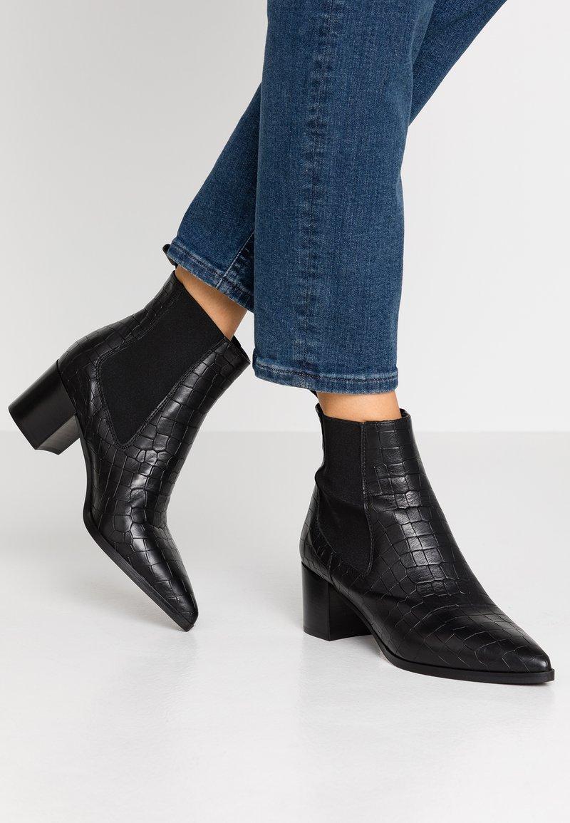 Minelli - Ankelboots - noir