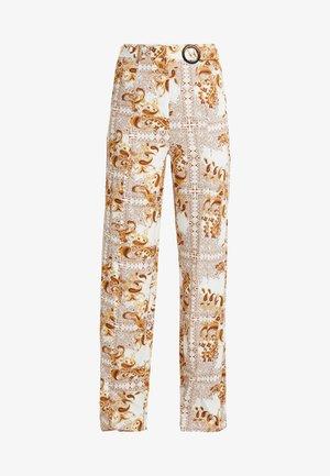 PALAZZO PANTS - Pantaloni - white