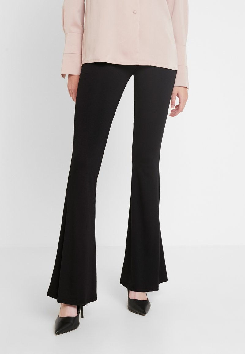Missguided Tall - BELTED UTILITY COMBAT TROUSER - Stoffhose - black