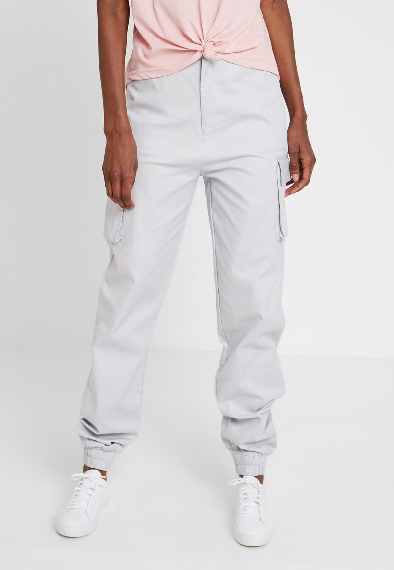 Missguided Tall - PLAIN TROUSERS - Cargo trousers - grey