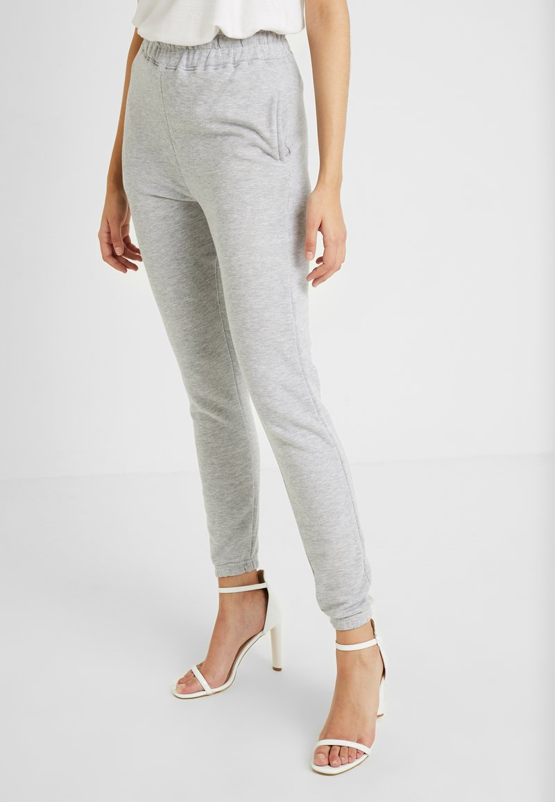 Missguided Tall - BASIC JOGGERS 2 PACK - Tracksuit bottoms - black/grey