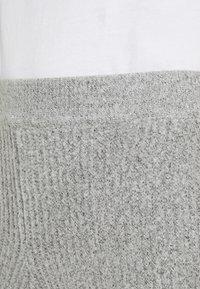 Missguided Tall - PREMIUM RIBBED JOGGER - Pantaloni sportivi - grey - 4