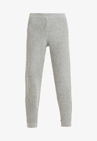 Missguided Tall - PREMIUM RIBBED JOGGER - Pantaloni sportivi - grey - 3