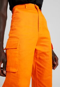 Missguided Tall - PLAIN TROUSER - Trousers - orange - 4