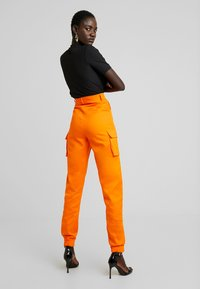 Missguided Tall - PLAIN TROUSER - Trousers - orange - 3
