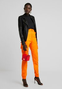 Missguided Tall - PLAIN TROUSER - Trousers - orange - 2