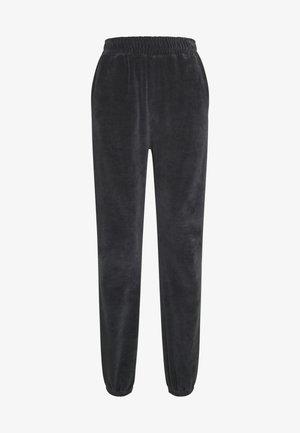 CUFFED JOGGERS - Teplákové kalhoty - grey