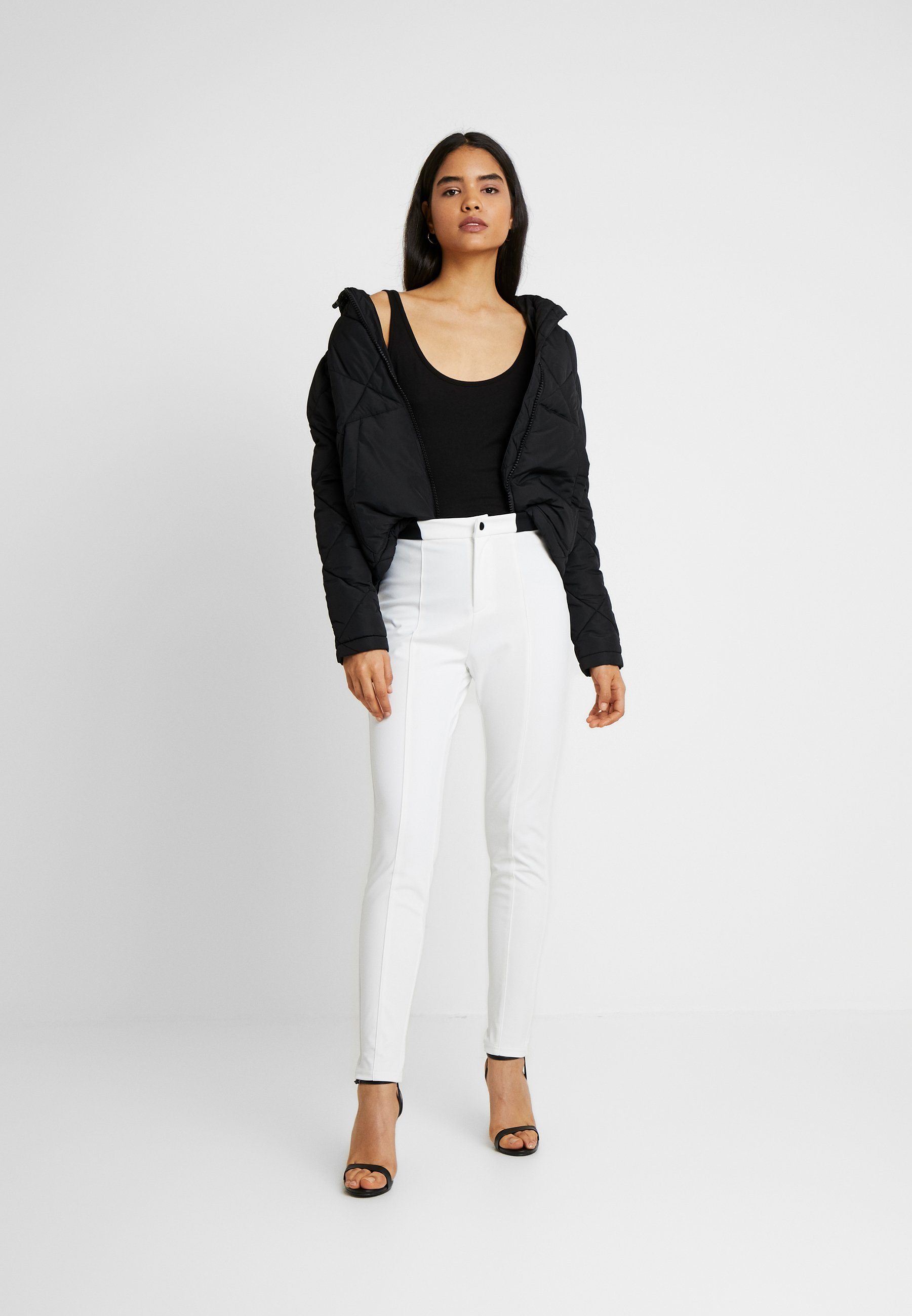 Missguided Tall Skiwear - Stoffhose White