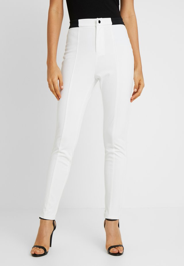 SKIWEAR - Trousers - white