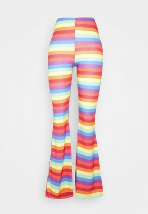 PRIDE RAINBOW FLARES - Leggings - Trousers - multi