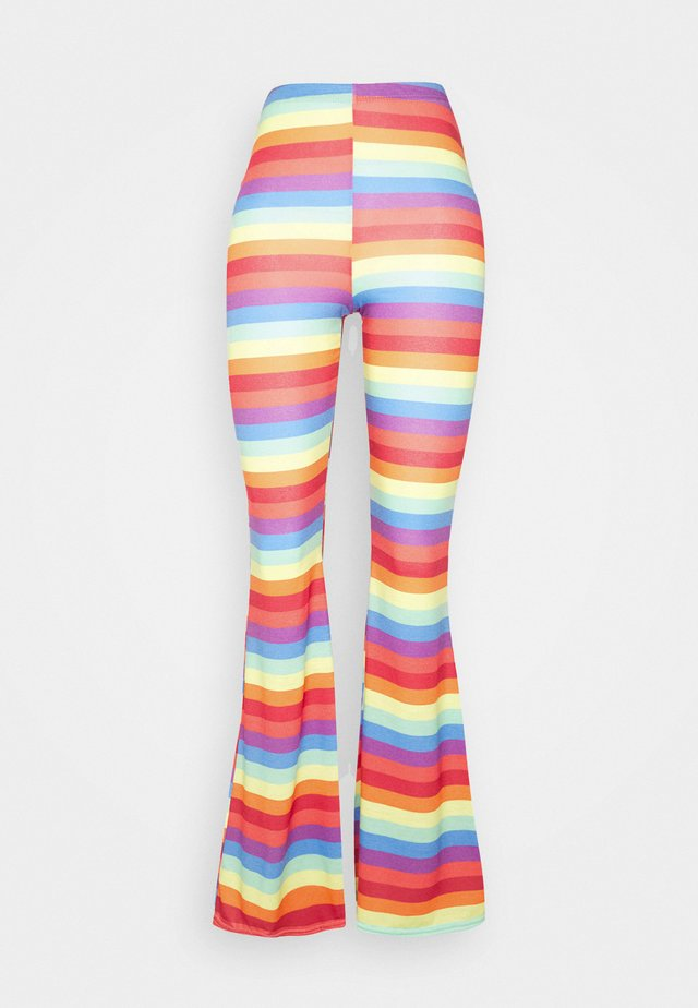 PRIDE RAINBOW FLARES - Leggings - multi