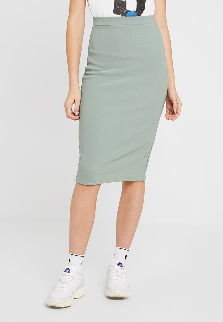 Missguided Tall - PENCIL SKIRT - Pencil skirt - green