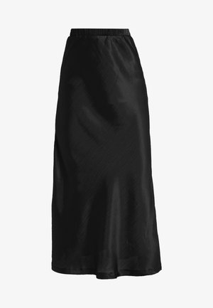 MIDAXI SKIRT - Maxi skirt - black