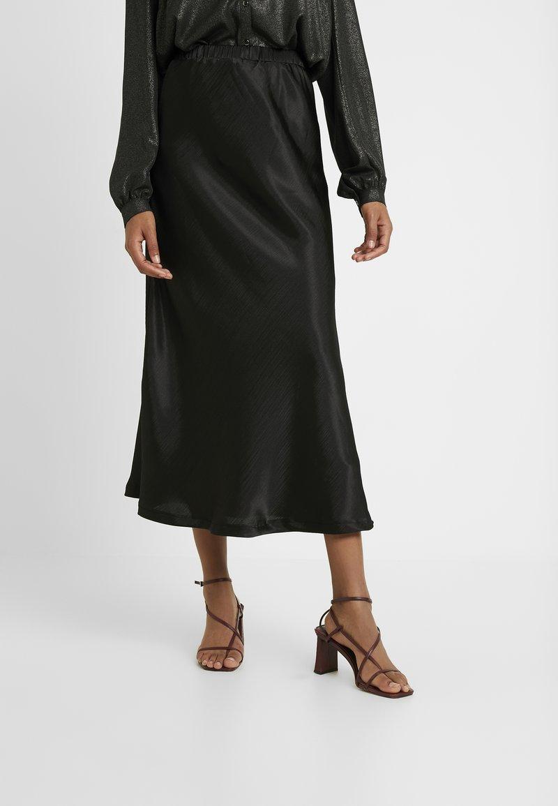 Missguided Tall - MIDAXI SKIRT - Maxi skirt - black