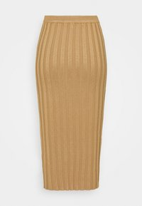 Missguided Tall - EXTREME MIDI SKIRT - Gonna a tubino - brown - 1