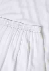 Missguided Tall - SKIRT - Maxirock - white - 2