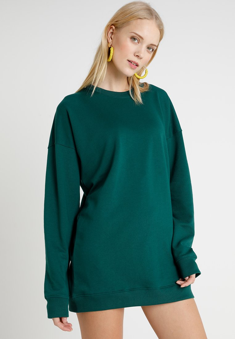 Missguided Tall - LONG SLEEVE DRESS - Day dress - forest teal